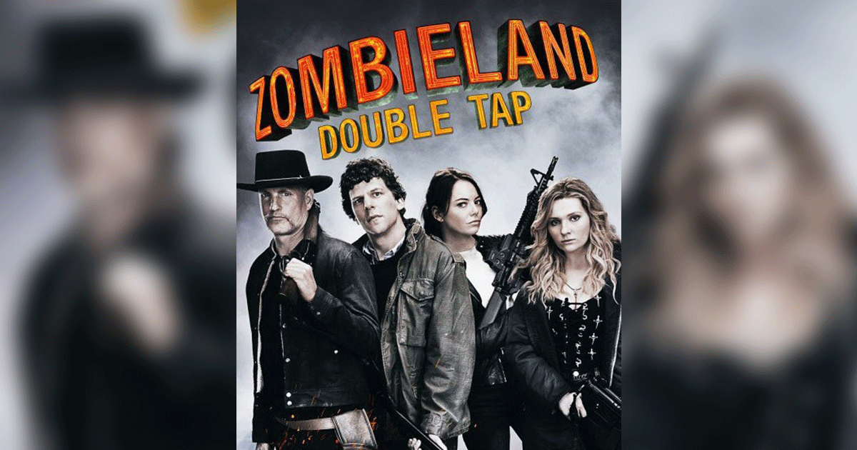 Zombieland Double Tap Horror Comedy Movie 2019