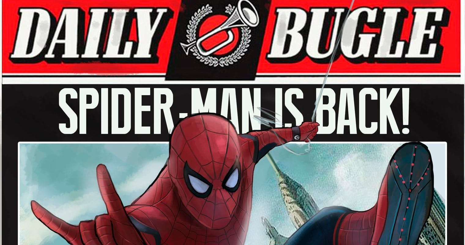 SpiderMan Daily Bugle what happens