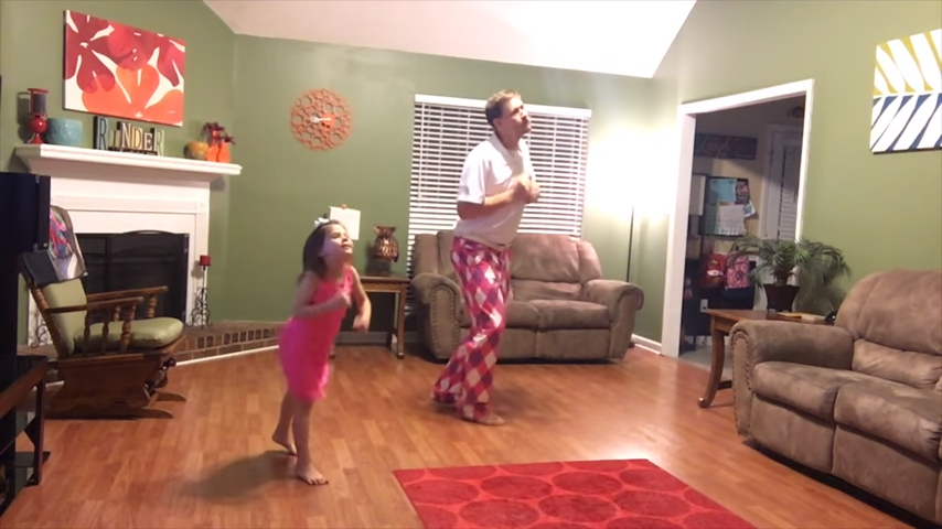 This Silly Daddy-Daughter Dance Is The