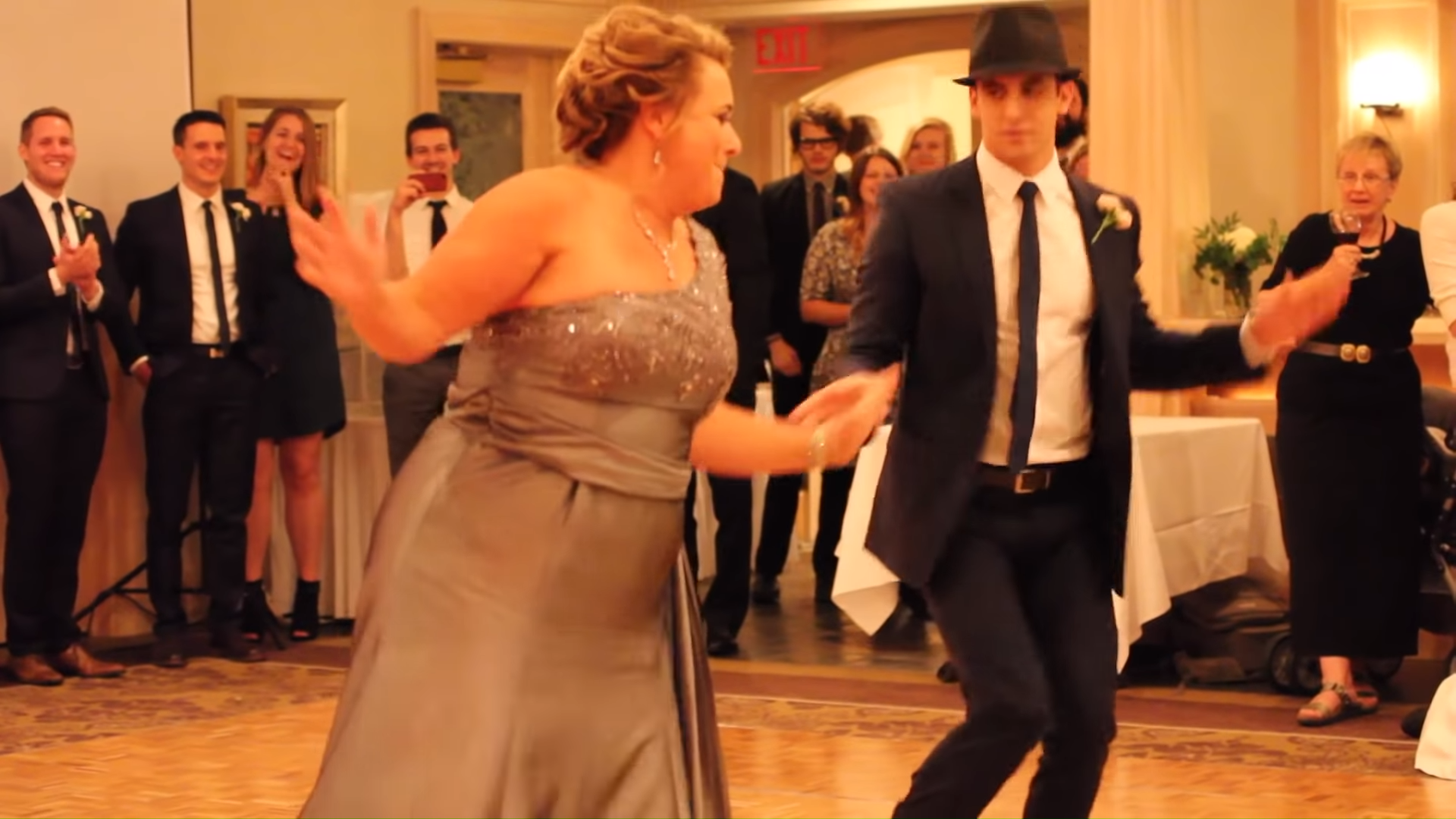Mom Dances With Her Son During His Wedding Day But Their