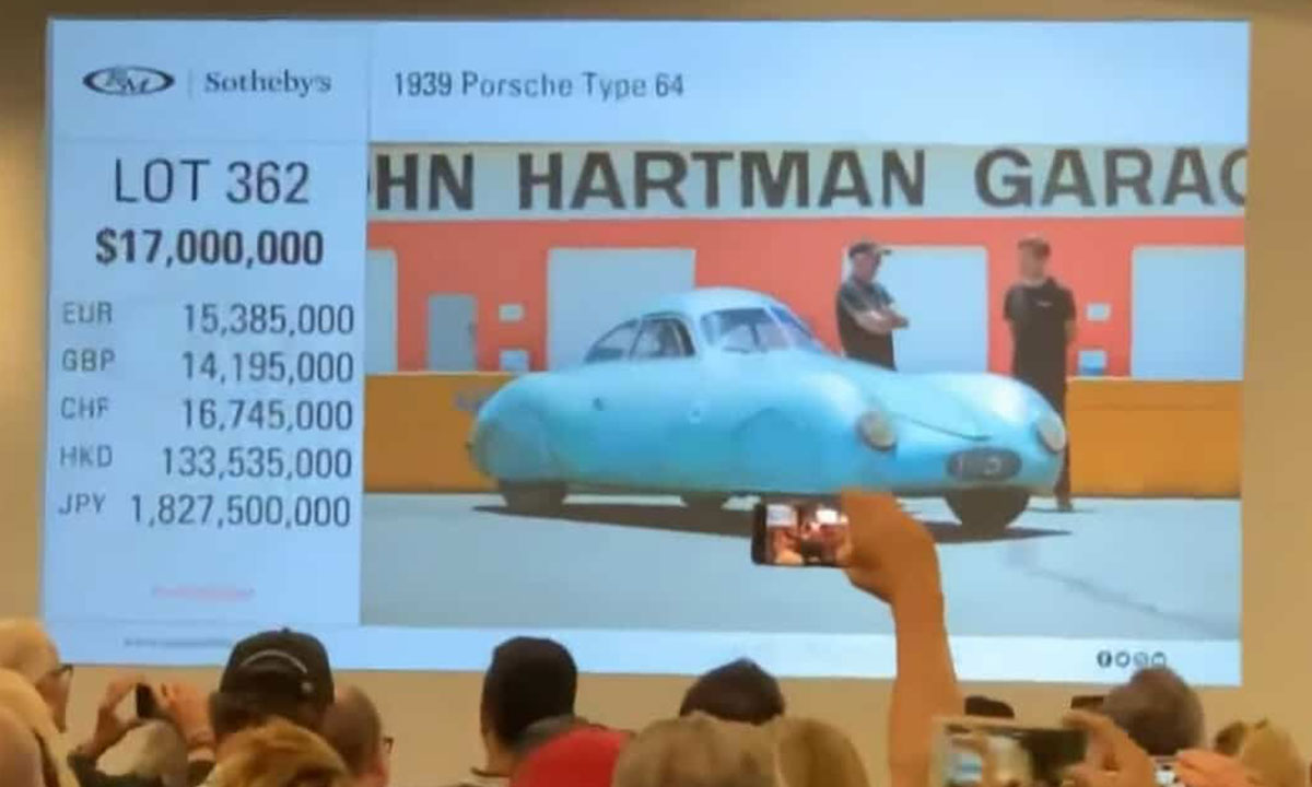 Auctioneer makes a $50 million mistake on the very first