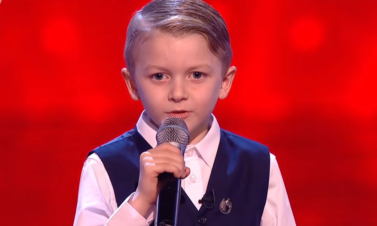 kid auditions at the voice