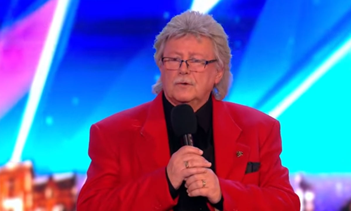 Mal Ford performs on BGT