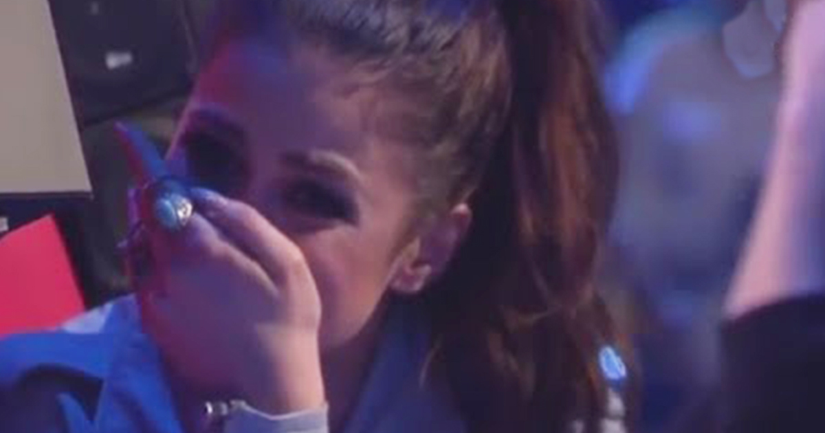 Little Girl Sings Time To Say Goodbye Then Leaves The Judges In Tears