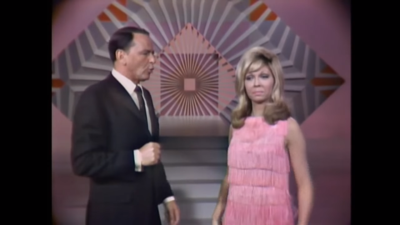 Frank Sinatra & Nancy Sinatra Downtown These Boots are Made for Walking 1966