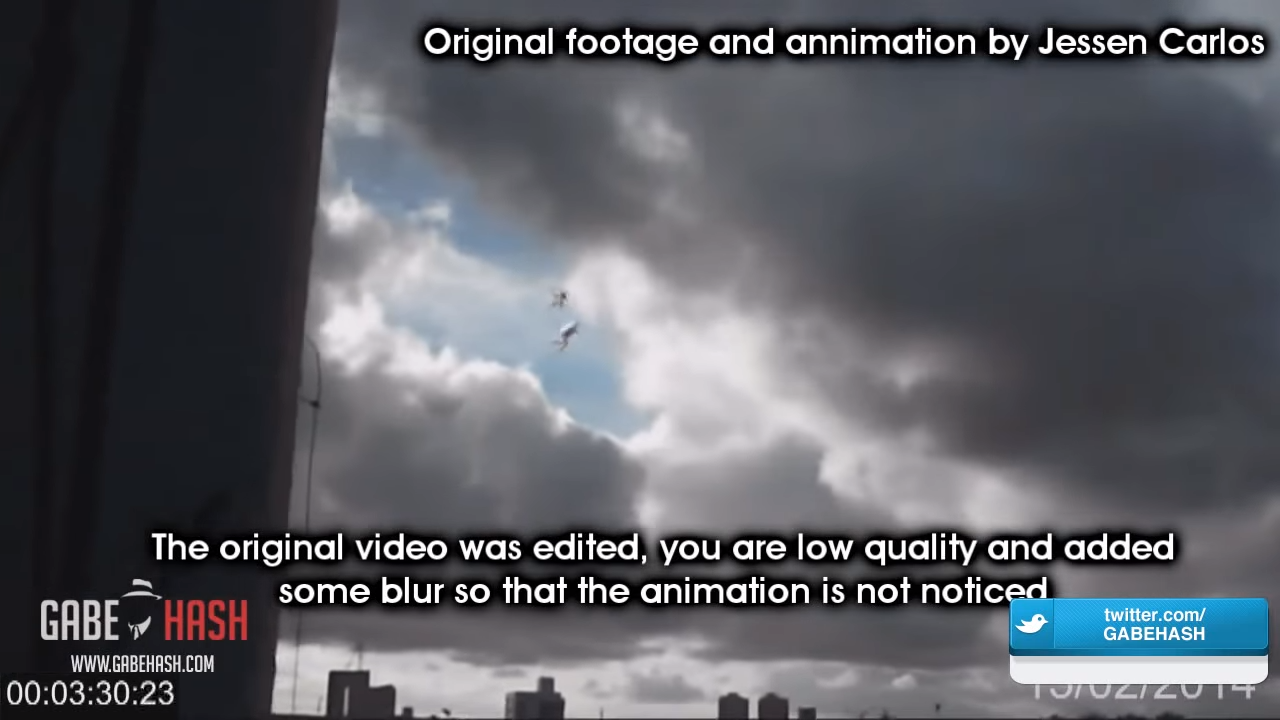 TWO ANGELS CAUGHT ON CAMERA FLYING IN BRAZIL (EXPLAINED) 1-23 screenshot