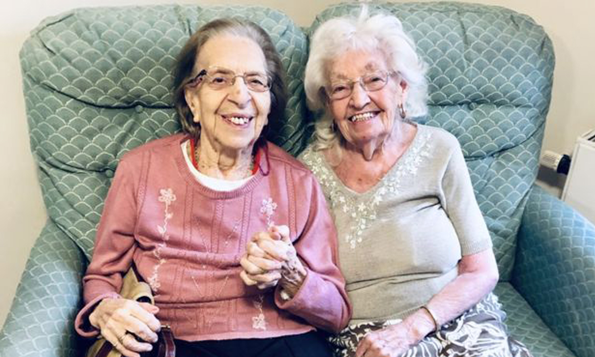 best friends for 80 yrs