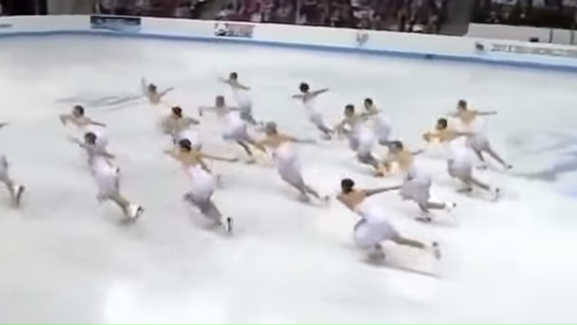 World Synchronized Skating SP 3 Team Russia 2013 2-4 screenshot