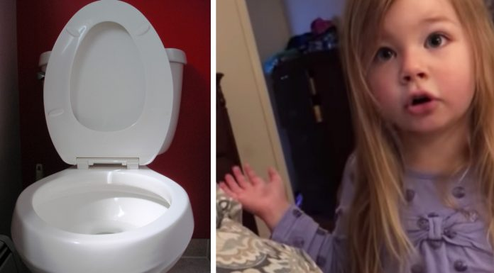 toddlers toilet seat lecture