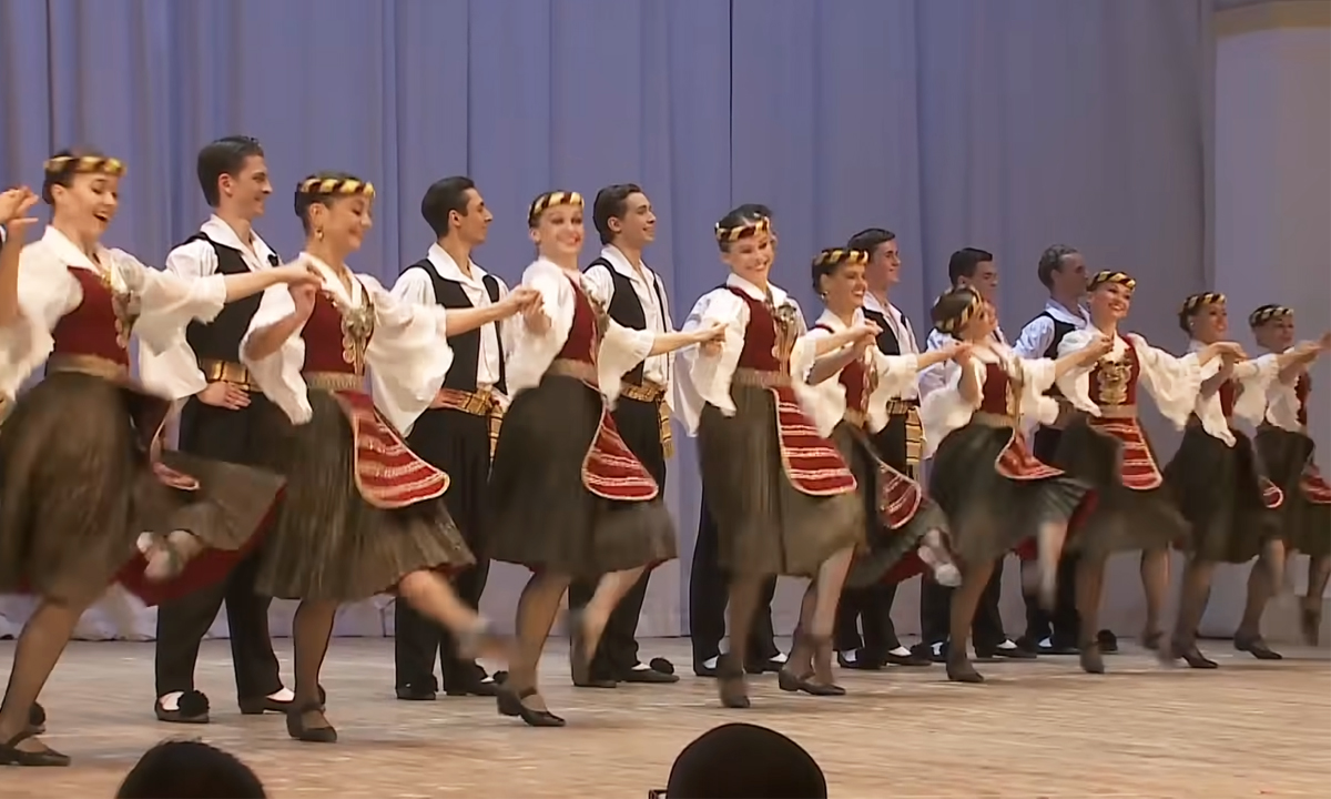 greek traditional ballet