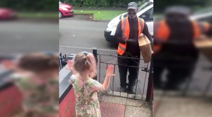 kid learns sign language for driver
