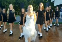 bride irish dance