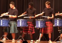 school-drumline-performance