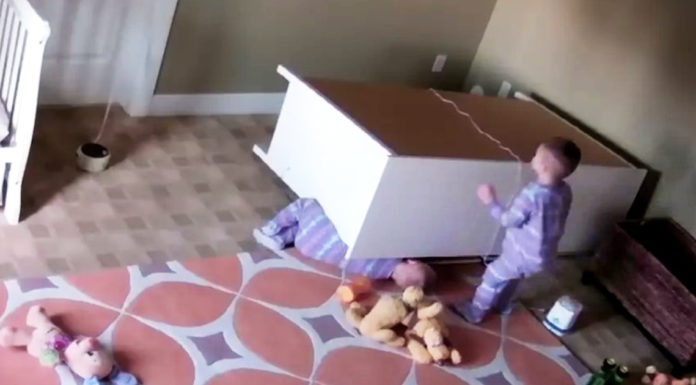 2-yo-saves-brother-from-dresser