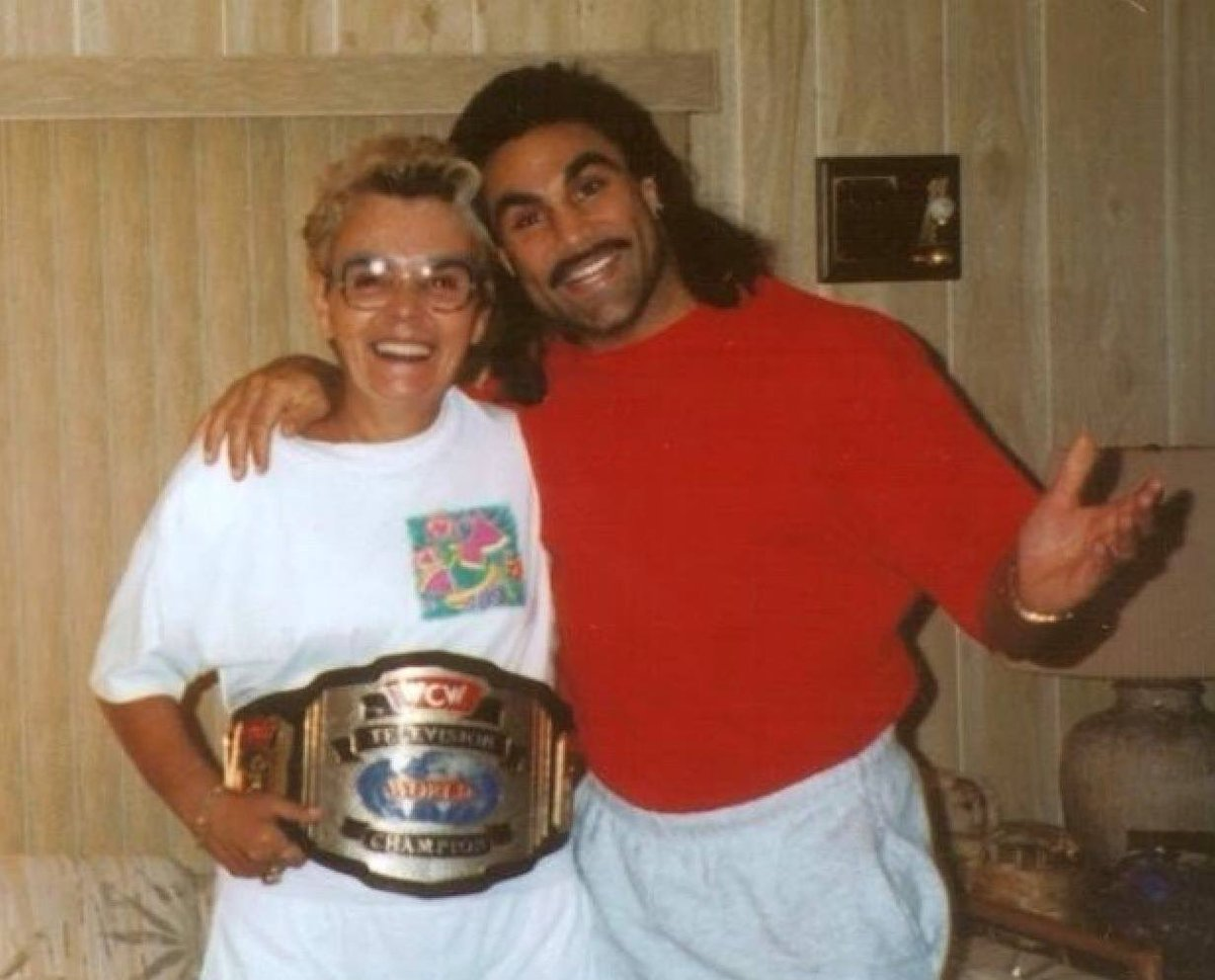 Marc and his mother