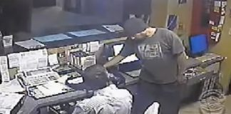 robbery in action