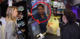 shaming-customer for food stamps