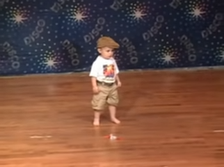 toddler dance on stage