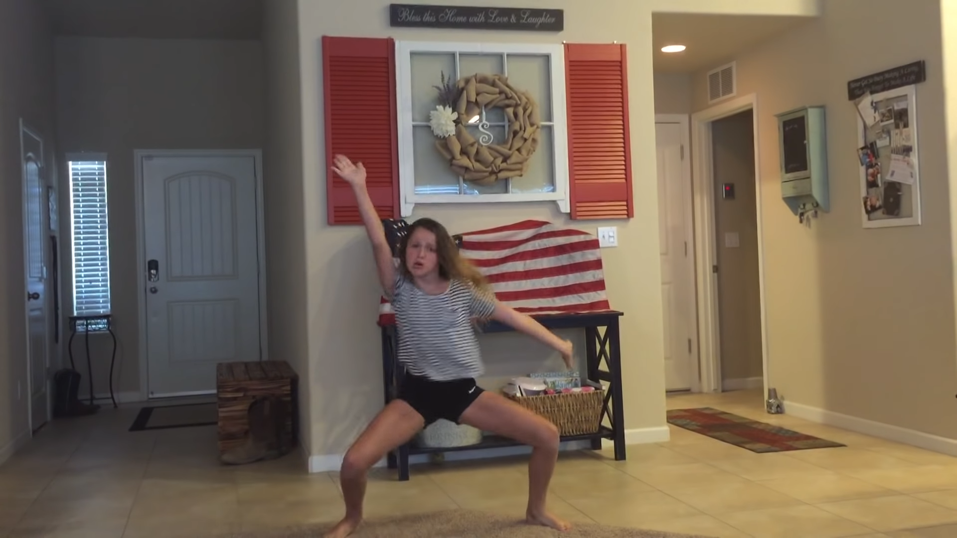 Whip Nae Nae father daughter