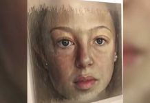 aging painting