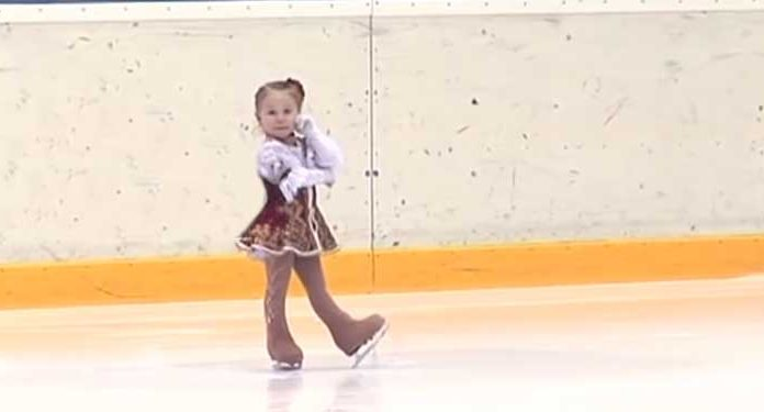 youngest Russian figure skater