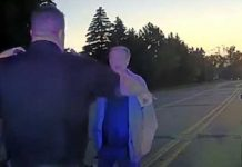79-year-old is upset during traffic stop